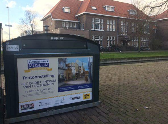 -gesponserde-poster-van-de-tentoonstelling-het oude centrum van loosduinen
