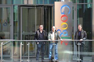 dmenzo en rob van kan bij google in dublin