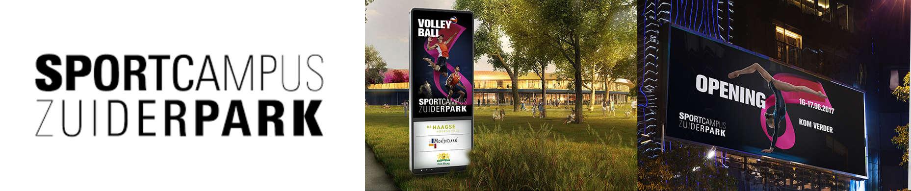 Logo Sportcampus Zuiderpark