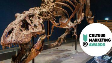 T. rex wint Cultuurmarketing Award
